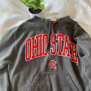 VINTAGE OHIO STATE Sweatshirt gray size small